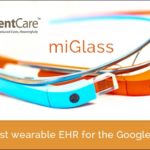 iPatientCare Shaking Hands with Glassware Technology