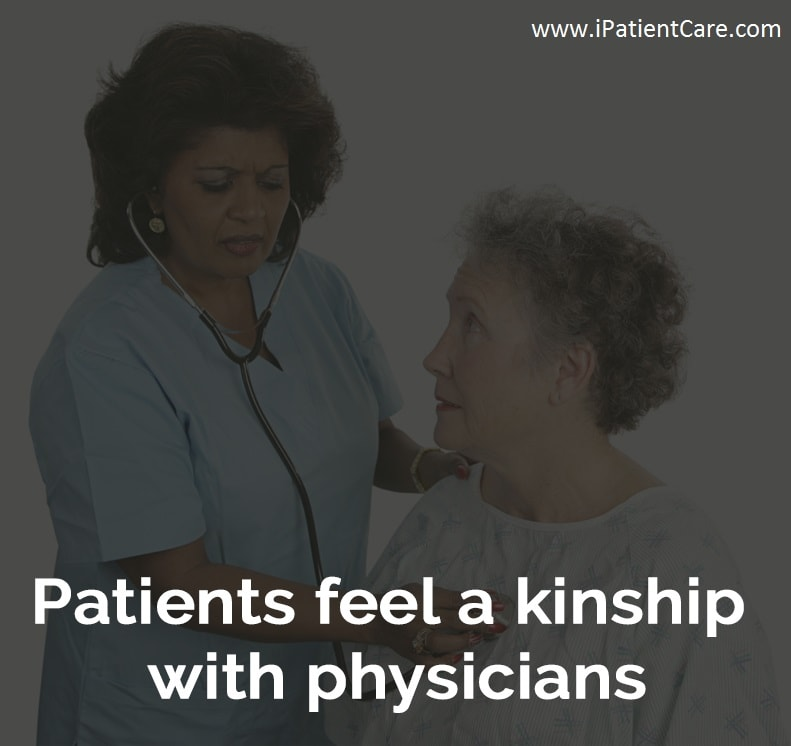 Improved Physician - Patient relations out of the clinic