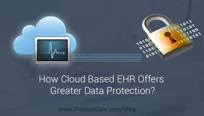 iPatientCare Blog - How Cloud Based EHR Offers Greater Data Protection?