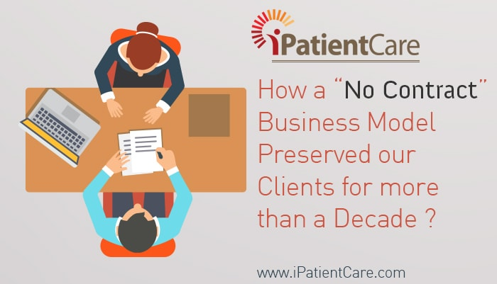 "iPatientCare Blog - How a ""No Contract"" Business Model Preserved our Clients for more than a Decade"