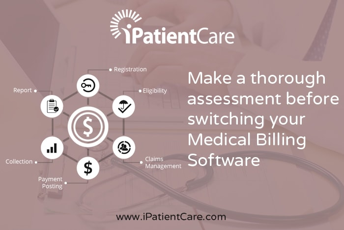 iPatientCare Blog - Make a through assessment before switching your Medical Billing Software