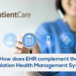How does EHR complement the Population Health Management System?