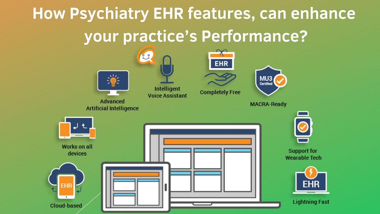 iPatientCare Blog - How Psychiatry EHR features can enhance your practice's Performance
