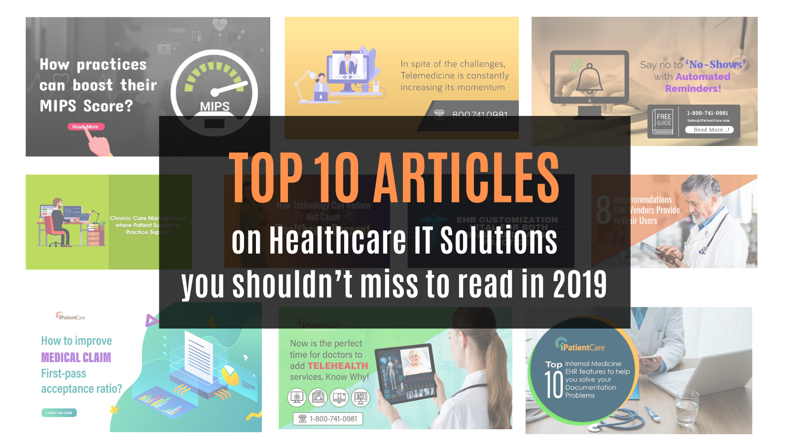 iPatientCare Blog - Top 10 Healthcare IT articles of 2019