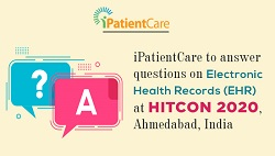 iPatientCare to answer questions on Electronic Health Records at HITCON